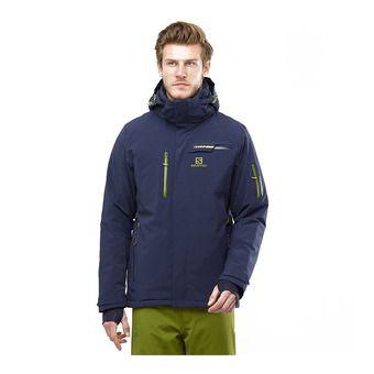 Salomon BRILLIANT - Ski Jacket - Men's - night sky