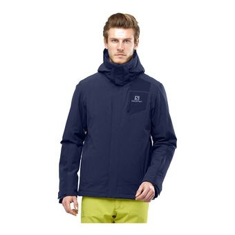 Salomon STORMSTRONG - Veste ski Homme night sky