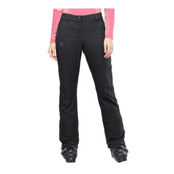 Salomon STORMSEASON - Pantalon ski Femme black