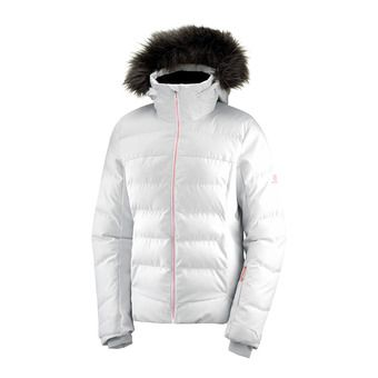 Salomon STORMCOZY - Down Jacket - Women's - wht/lunar rock