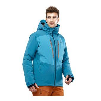 Salomon ICEFROST - Ski Jacket - Men's - lyons blue/fjord blue