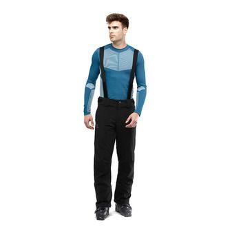 Salomon STORMSEASON - Pantalón de esquí hombre black