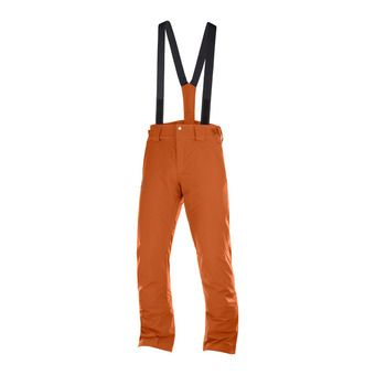 Salomon STORMSEASON - Ski Pants - Men's - umber