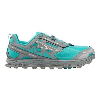 Altra LONE PEAK 4 - Zapatillas de trail mujer teal/gray