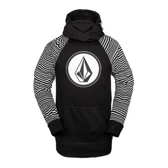 Volcom HYDRO RIDING - Sweat Homme black stripe
