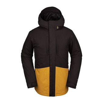 Volcom SLYLY INS - Giacca snowbord Uomo vintage black