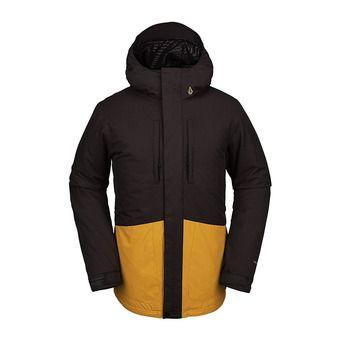 Volcom SLYLY INS - Snowboard Jacket - Men's - vintage black