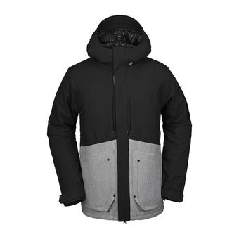 Volcom SCORTCH INS - Snowboard Jacket - Men's - heather grey