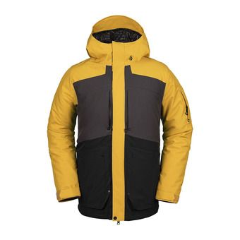 Volcom SCORTCH INS - Snow Jacket - Men's - resin gold
