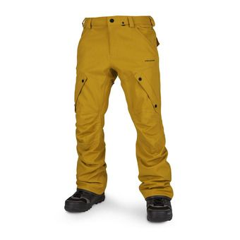 Volcom ARTICULATED - Snow Pants - Men's - resin gold