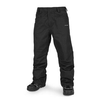 Volcom CARBON - Pantaloni snowbord Uomo black