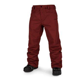 Volcom CARBON - Snow Pants - Men's - burnt red