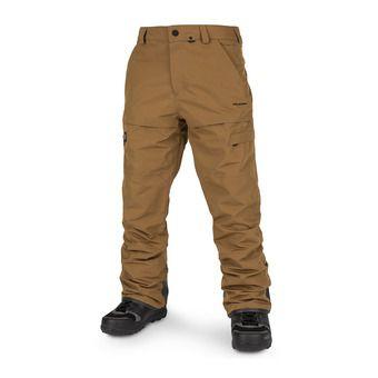 Volcom GI-2 - Pantaloni snowboard Uomo caramel