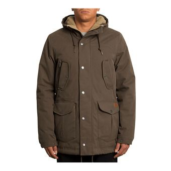 Volcom STARGET 5K - Parka Homme major brown
