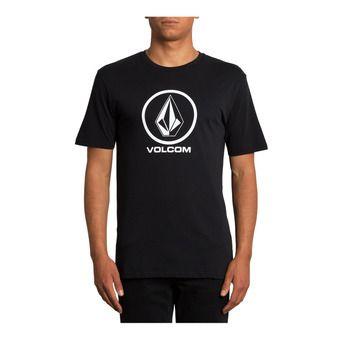 Volcom CRISP STONE - Tee-shirt Homme black