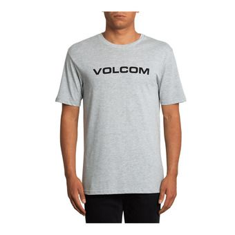 Volcom CRISP EURO - T-shirt Uomo heather grey