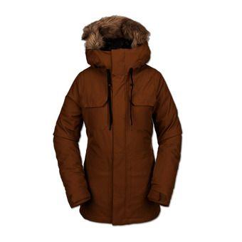 Volcom SHADOW INS - Chaqueta de snow mujer copper