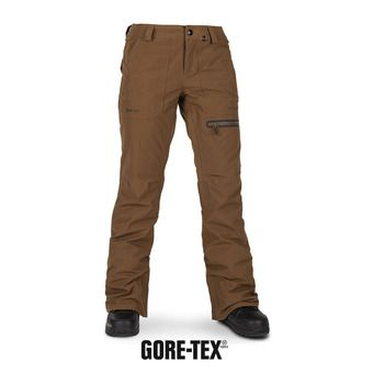 Volcom KNOX INS GORE GTX - Pantalon snow Femme copper