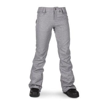 Volcom SPECIES STRETCH - Pantaloni snowbord Donna heather grey