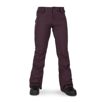 Volcom SPECIES STRETCH - Pantalon snow Femme merlot