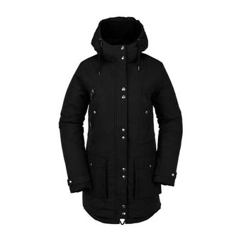 Volcom WALK ON BY 5K - Parka Donna black