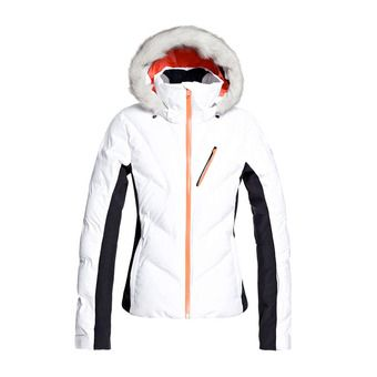 Roxy SNOWSTORM JK - Veste ski Femme bright white
