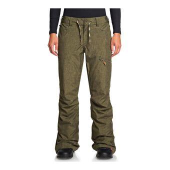 Roxy NADIA - Pantalon de ski Femme ivy green