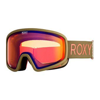 Roxy FEENITY - Masque de ski ivy green