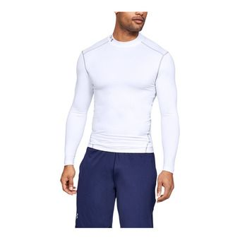 Under Armour CG ARMOUR MOCK - Camiseta hombre white