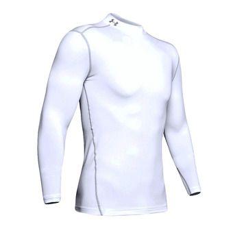 Under Armour CG ARMOUR MOCK - Camiseta hombre white