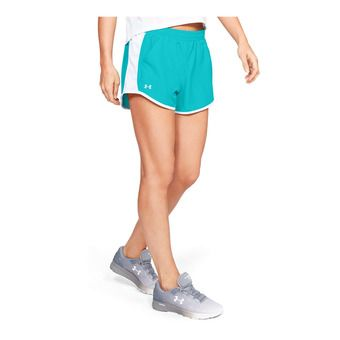 Under Armour FLY BY - Short mujer breathtaking blue