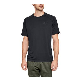 UA Tech 2.0 SS Tee-BLK Homme Black1326413-001