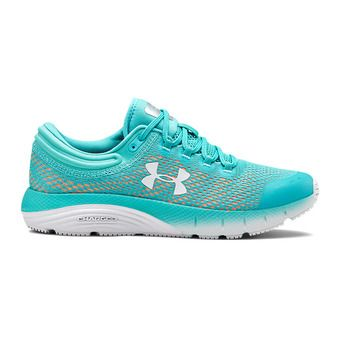 UA W Charged Bandit 5-BLU Femme Breathtaking Blue3021964-301