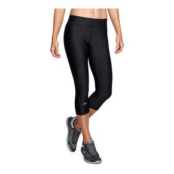 UA HG Armour Capri-BLK Femme Black1309652-001