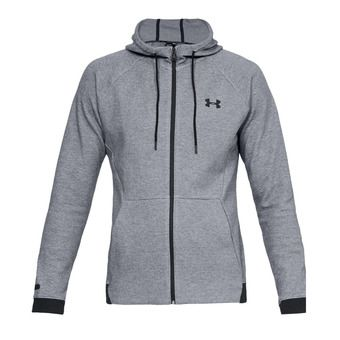 Under Armour UNSTOPPABLE 2X KNIT - Sweat Homme steel