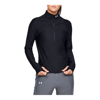 Under Armour QUALIFIER - Maglia Donna black