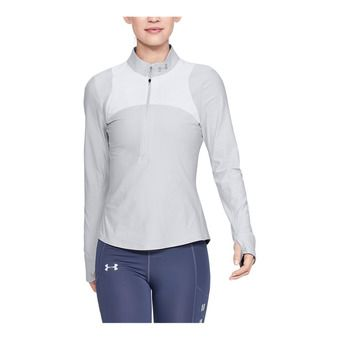 Under Armour QUALIFIER - Maillot Femme halo gray