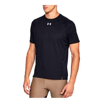 UA QUALIFIER SHORTSLEEVE-BLK Homme Black1326587-001