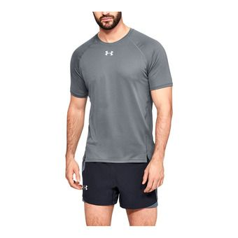Under Armour QUALIFIER - Maillot Homme pitch gray