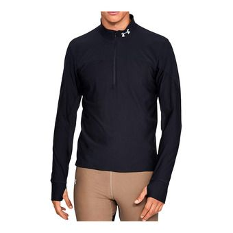 UA Qualifier Half Zip-BLK Homme Black1326595-001