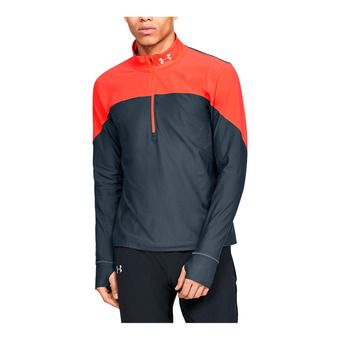 UA Qualifier Half Zip-GRY Homme Wire1326595-073