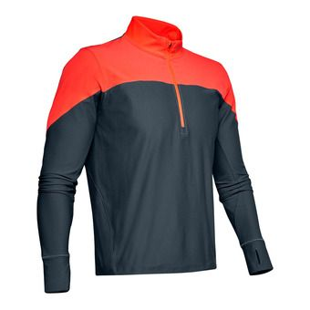Under Armour QUALIFIER - Maillot Homme wire