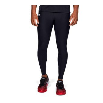 Under Armour QUALIFIER HEATGEAR - Mallas hombre black