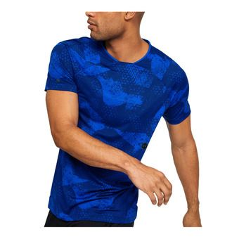 Under Armour HG RUSH FITTED - Sous-couche Homme royal