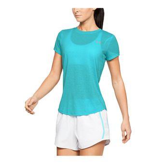 Under Armour STREAKER 2.0 - Camiseta mujer breathtaking blue