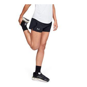 UA Qualifier Speedpocket Short-BLK Femme Black1342856-001