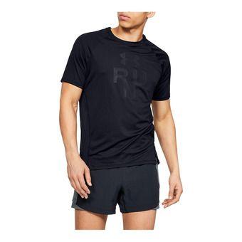 Under Armour QUALIFIER GLARE - Camiseta hombre black