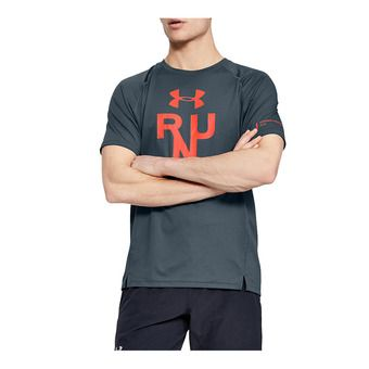 Under Armour QUALIFIER GLARE - Maillot Homme wire