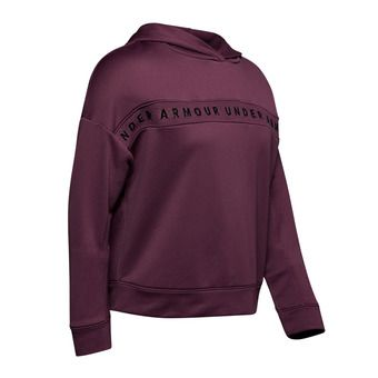 Under Armour TECH TERRY - Sudadera mujer level purple