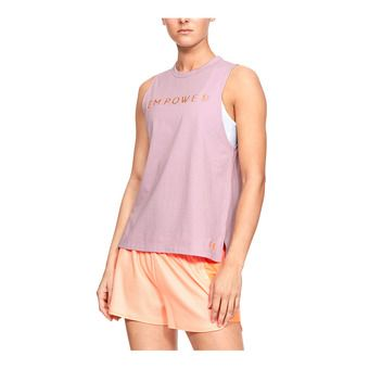 GRAPHIC EMPOWER MUSCLE SL-PNK Femme Pink Fog1344685-694